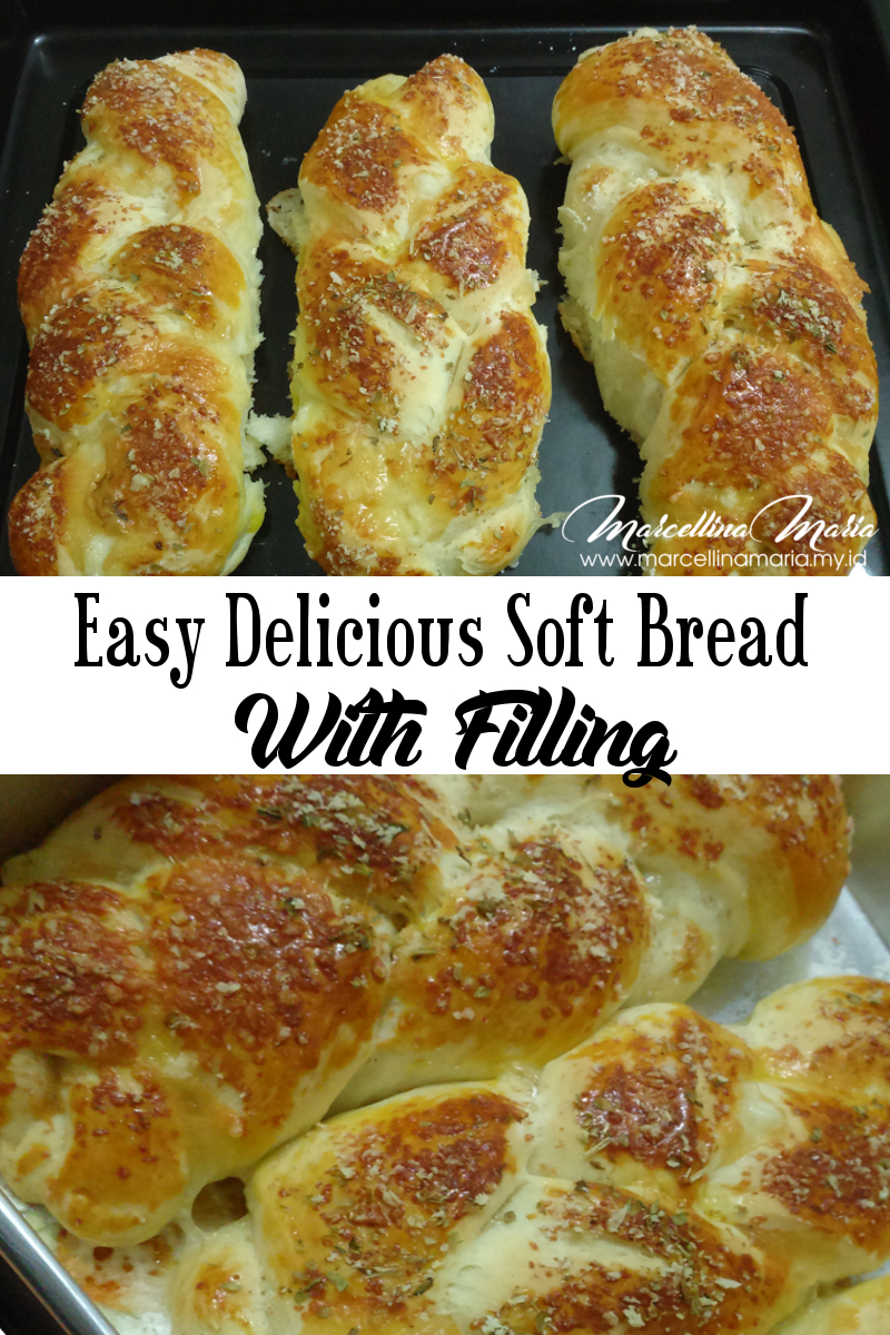 Easy Delicious Soft Bread With Filling