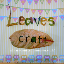 craft with leavess