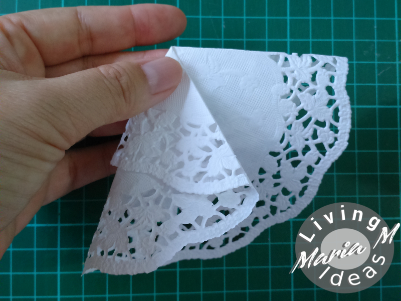 diy tutorial doilies angel 10