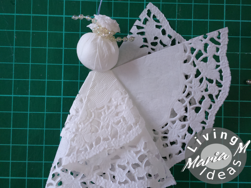 diy tutorial doilies angel 16