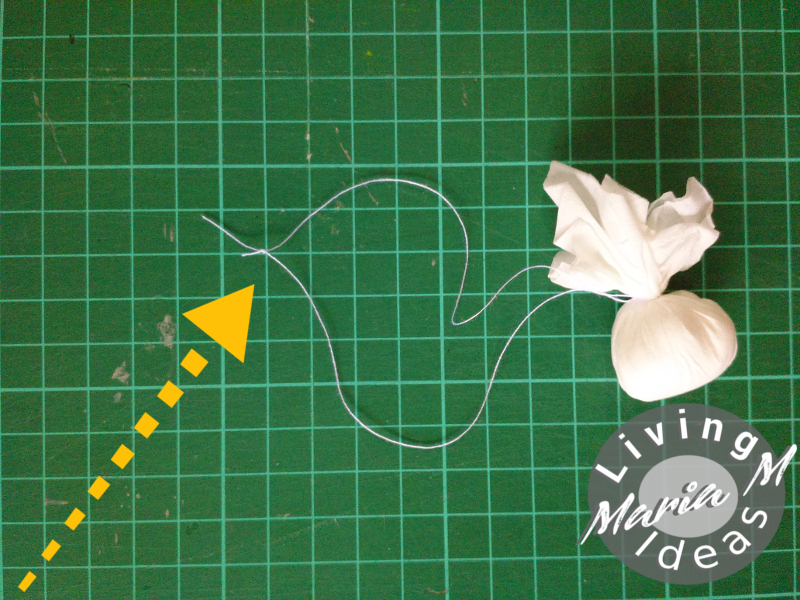 diy tutorial doilies angel 6