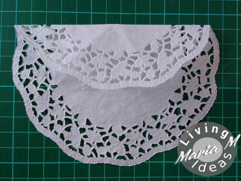 diy tutorial doilies angel 9