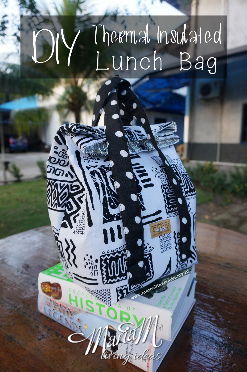 handmade gift ideas for teenager: thermal insulated lunch bag