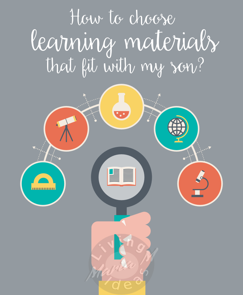 how to choose learning material for homeschool