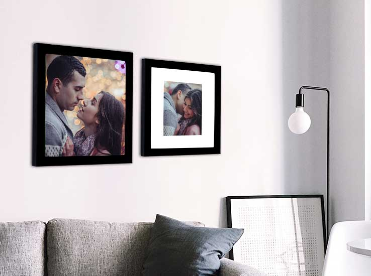 The best way to decorate your home with photos - mom can do it