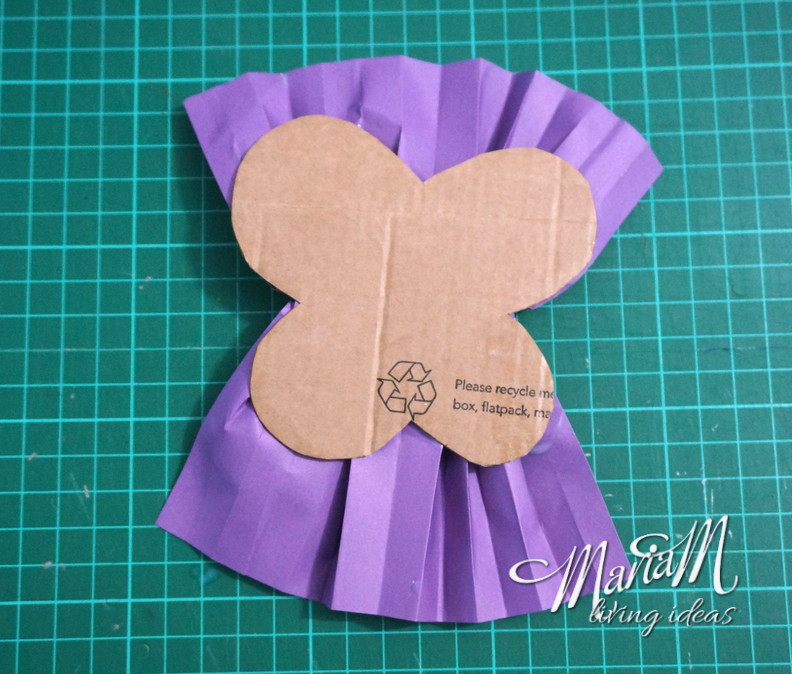 ruffle butterfly bookmark 6