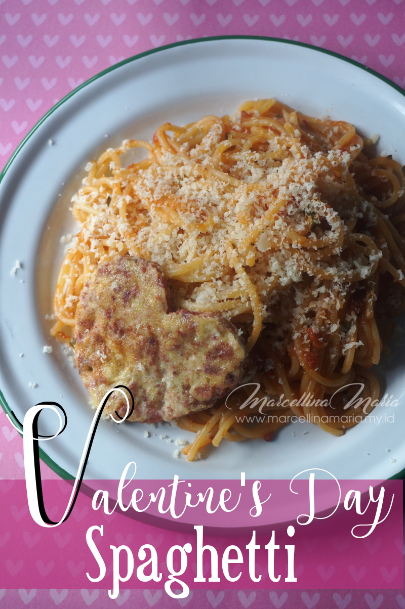 spaghetti for valentine's day