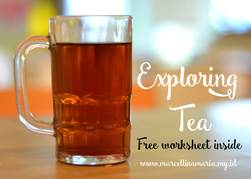 Exploring tea in Indonesia, you can download free tea time worksheet
