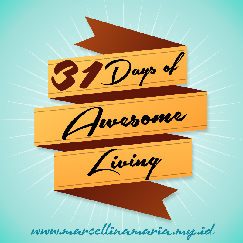 31 days of awesome living