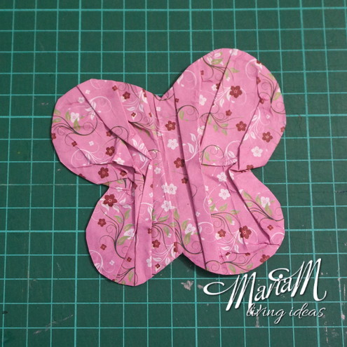 ruffle butterfly bookmark 7